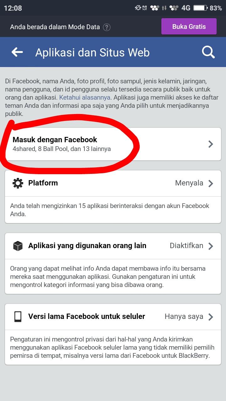 Cara Memutus Hubungan Facebook Dengan Instagram Lewat Hp